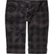 YMI Plaid Cuffed Womens Shorts