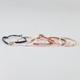 FULL TILT 5 Piece Palm/Love/Bow/Cross/Bead Bracelets