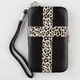 Leopard Cross iPhone 4/4S Wallet