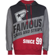 FAMOUS STARS & STRAPS Statement Mens Hoodie