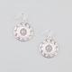 FULL TILT Circle Medallion Earrings