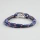 BLUE CROWN Rope Bracelet