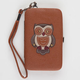 Owl Applique iPhone 4/4S Wallet