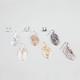 6 Pair Filigree Chandelier Earrings
