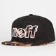 NEFF Leopard Furz Mens Snapback Hat