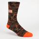 TODDLAND American Camo Mens Crew Socks
