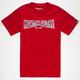 MIGHTY HEALTHY Ramp Logo Mens T-Shirt