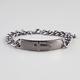 FULL TILT Cross Chain ID Bracelet