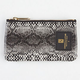 CROOKS & CASTLES Reptillo Coin Pouch