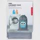 KIKKERLAND Owl Laundry Bag