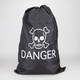 KIKKERLAND Danger Laundry Bag