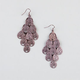 FULL TILT Filigree Teardrop Chandelier Earrings