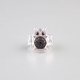 FULL TILT Caviar Bead Owl Stretch Ring
