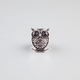 FULL TILT Etched Owl On Branch Stretch Ring