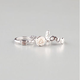 FULL TILT 3 Piece Love/Stone/Flower Rings