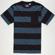 US VERSUS THEM Condition Stripe Mens Pocket Tee