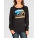 NOR CAL Beach Bear Womens Sweatshirt