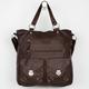 T-SHIRT & JEANS Studded Pocket Hobo Bag