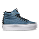 VANS Studded Sk8-Hi Platform Womens Shoes