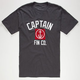 CAPTAIN FIN Archer Mens T-Shirt