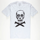 CAPTAIN FIN Skull Spikes Mens T-Shirt