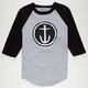 CAPTAIN FIN Circle Anchor Mens Baseball Tee