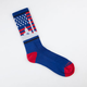 SKYLINE SOCKS Washington DC Mens Crew Socks
