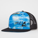 LOST Black Fin Mens Trucker Hat