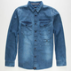 TAVIK Slim Pickens Mens Denim Shirt