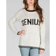 FULL TILT Genius Womens Sweater