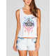FULL TILT Ethnic Palm Womens Deep Muscle Tank