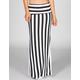 FULL TILT Double Slit Bold Stripe Maxi Skirt