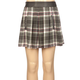 FULL TILT Faux Leather Trim Girls Skirt