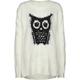 FULL TILT Owl Girls Tunic Sweater