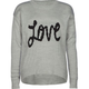 FULL TILT Love Girls Hi Low Sweater