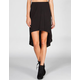 VOLCOM My Favorite Middy Hi Low Skirt