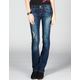 YMI Flap Pocket Womens Bootcut Jeans