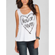 FULL TILT Now Or Never Womens Tank
