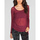FULL TILT Essential Womens Hachi Raglan Sweater