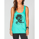 VOLCOM Skully Womens Mesh Back Tank