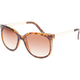 FULL TILT Metal Arm Cateye Sunglasses