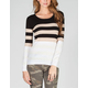 SAY WHAT? Striped Womens Sweater