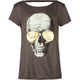 FULL TILT Skull Sunglasses Girls Bar Back Tee