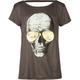 FULL TILT Skull Sunglasses Girls Bar Back Tee