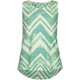 FULL TILT Chevron Stripe Girls Knot Back Top