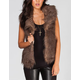 JACK BY BB DAKOTA Davorah Womens Faux Fur Vest