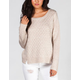 JACK BY BB DAKOTA Colette Womens Sweater