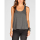 MIMI CHICA Striped Womens Open Back Tank