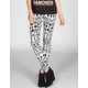 LILY WHITE Womens Leggings