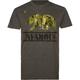 INFAMOUS Camo Bear Mens T-Shirt